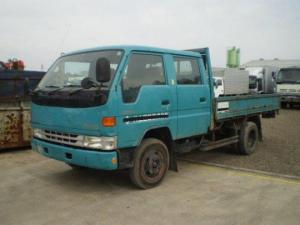 1998 toyot dyna double cabin bu212 4.1 diesel for sale japan 15 engine max load 2 ton 245k-1