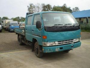 1998 toyot dyna double cabin bu212 4.1 diesel for sale japan 15 engine max load 2 ton 245k