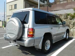 1999 mitsubishi pajero v45w sale japan 110k-1