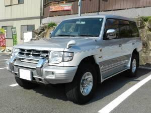 1999 mitsubishi pajero v45w sale japan 110k