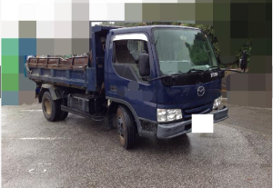 2000 mazda titan 4 ton dump truck tipper 4.6 wh68k for sale japan-3