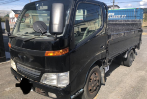 2001 toyota dyna truck 372 with power gate 4.6 diesel for sale in japan