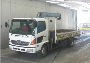 fc3j hino ranger crane truck for sale japan
