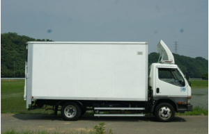 2002 mitsubishi fuso canter box truck fe63 for sale in japan 326k-1