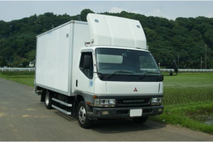 2002 mitsubishi fuso canter box truck fe63 for sale in japan 326k