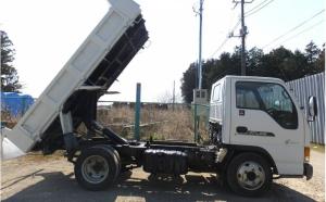 2002 nissan atlas 3 ton dump truck tipper akr71ed 4hg1 for sale japan 210k-1