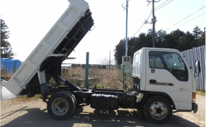 2002 nissan atlas 3 ton dump truck tipper akr71ed 4hg1 for sale japan 210k-1