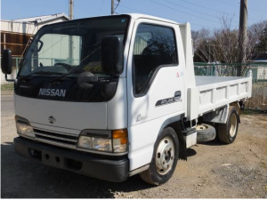 2002 nissan atlas 3 ton dump truck tipper akr71ed 4hg1 for sale japan 210k