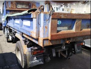 2004 mitsubishi fuso canter 2 ton dump trucks tipper fe71 fe71 for sale in japan