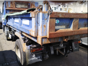 2004 mitsubishi fuso canter 2 ton dump trucks tipper fe71 fe71 for sale in japan