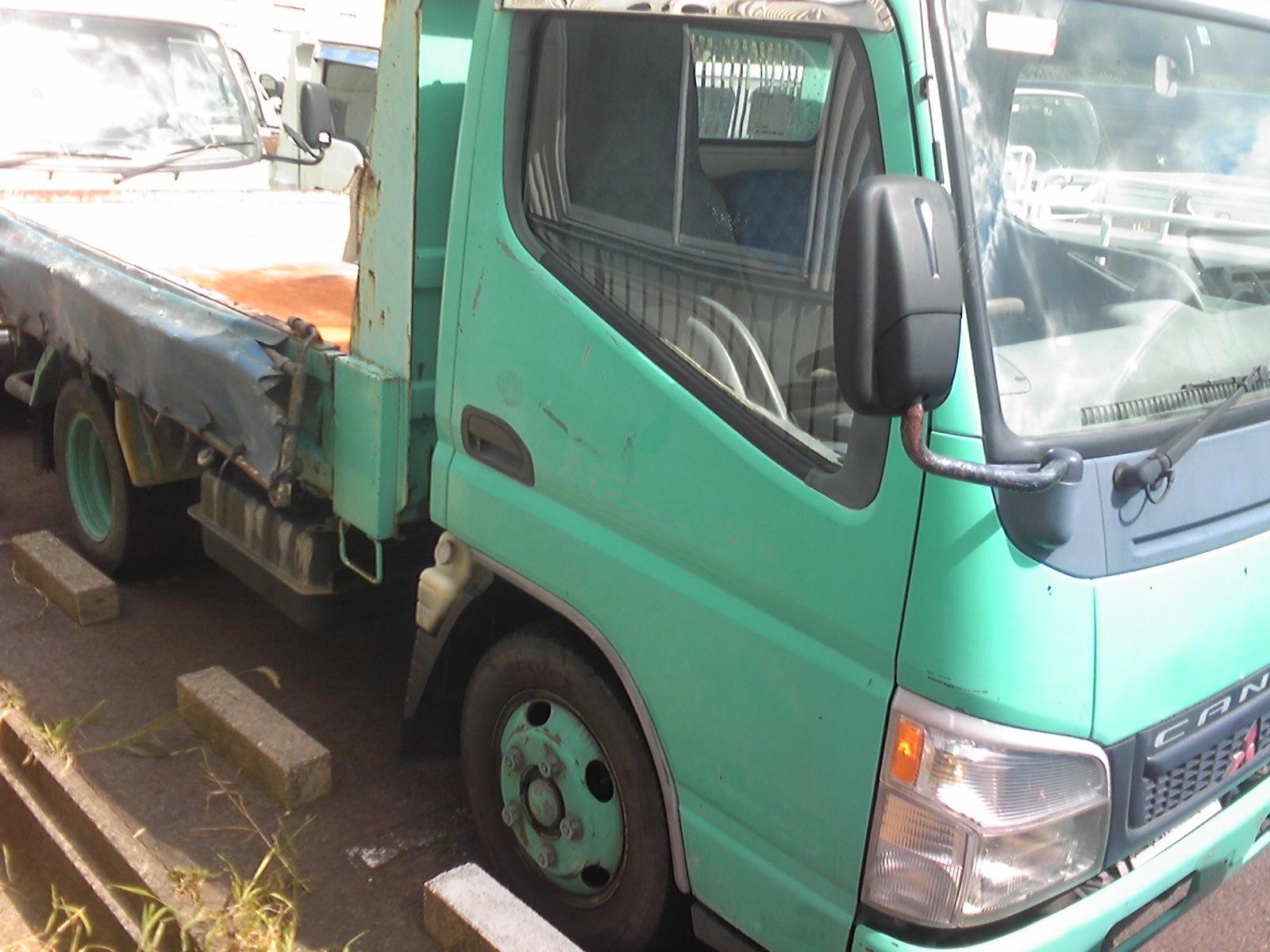 Canter truck sale double cabin 4wd japan import jpn car - Model Fe71bd