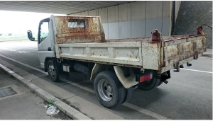 2006 mitsubishi canter 2.0 ton dump truck tipper fe71 fe71bbd 3.0 diesel for sale japan 210k-1