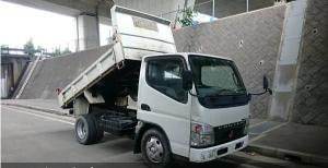 2006 mitsubishi canter 2.0 ton dump truck tipper fe71 fe71bbd 3.0 diesel for sale japan 210k