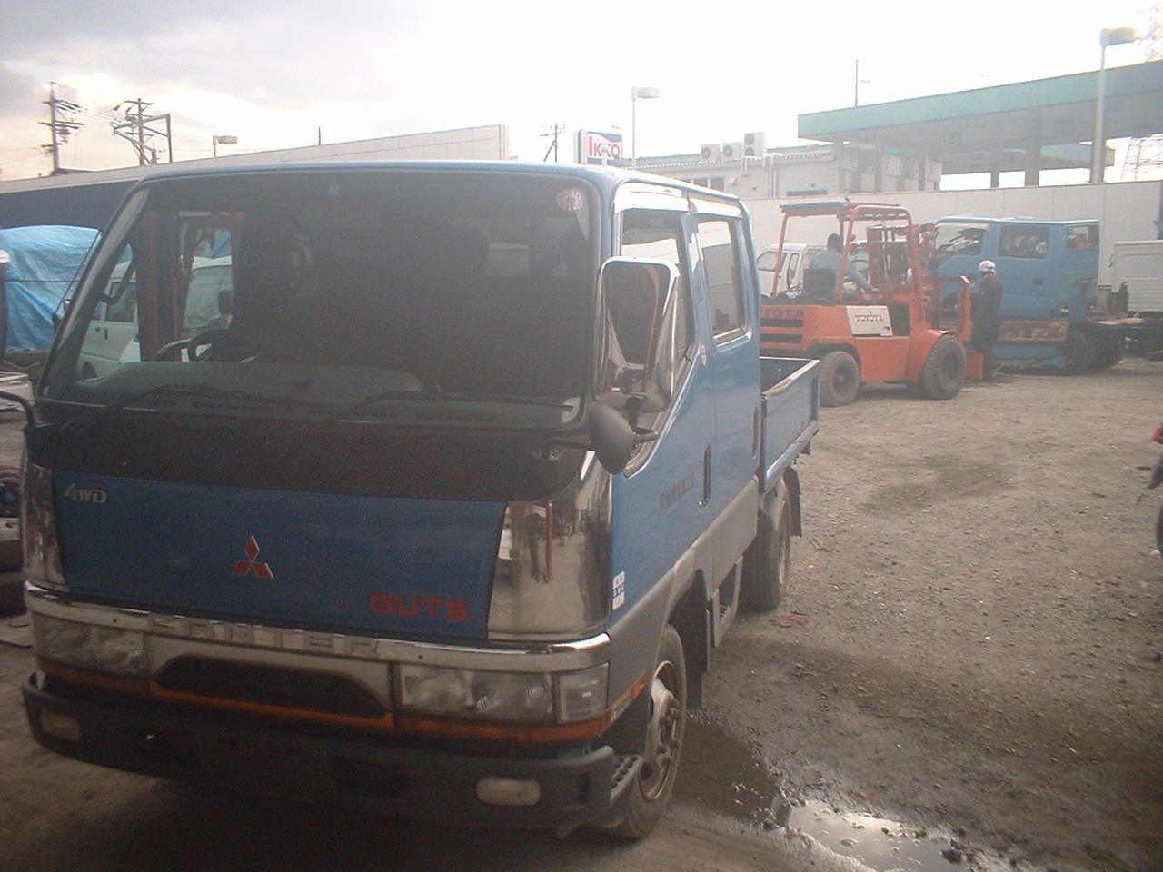 Canter truck sale double cabin 4wd japan import jpn car - Double
