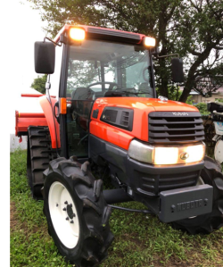 kubota kl33 used farm tractors 4wd ps for sale in japan 940 hours