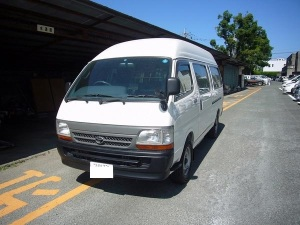 toyota hiace 15 seater rzh125b sales japan 75k