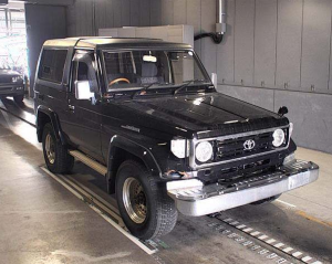 toyota land cruiser hzj73hv zx for sale in japan