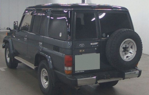 1995 toyota land cruiser landcruiser hzj77 hzj 77 hzj77hv 70 series 4.2 4wd 4x4 diesel for sale in japan used