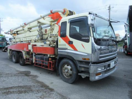 1998 isuzu concrete pump truck fro sale in japan 250k-3