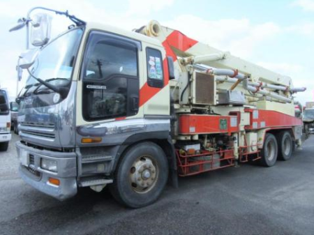 1998 isuzu concrete pump truck fro sale in japan 250k