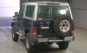toyota land cruiser 70 series 3 door 4.2 d for sale in japan
