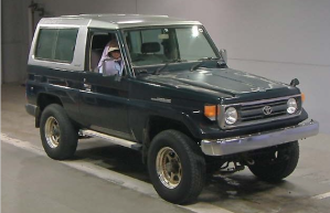 toyota land cruiser hzj73v 70 series 3 door for sale in japan