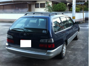 1989 toyota corolla station wagon ae100 ae100g for sale in japan 1.5 130k-1
