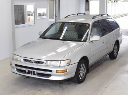 1997 toyota corolla g touring wagon ae100 1.5 for sale in japan 168k