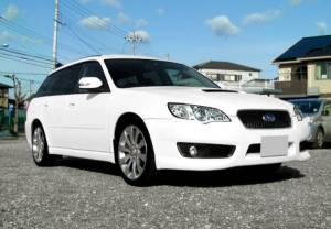 2007 subaru legacy touring wagon bp5 spec b 2.0 spec b 4wd sale japan