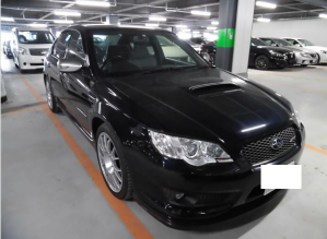 2008 subaru legacy bl9 2.5 s402 turbo 4x4 for sale in japan