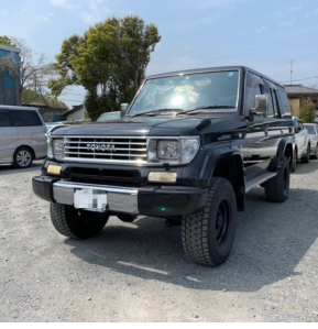 1995 toyota land cruiser kzj78 sx wide limited for sale japan