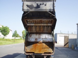 2002 mitsubishi garbage trash rubbish trucks fe53cb for sale in japan 200k-2