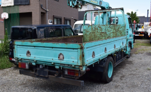 isuzu elf nkr81 crane boom truck for sale in japan