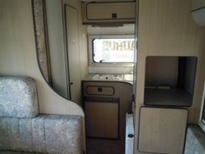1993 mitsubishi delica camper 2.5 diesel MT LO39G for sale in japan 65k-1
