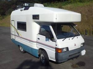 1997 mitsubishi delica campervan for sale in japan