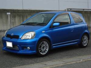 2003 toyota vits trd turbo sales japan 88k