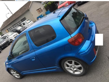 2003 toyota vitz rs trd turbo ncp13 1.5 for sale in japan 115k-1