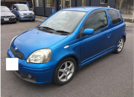 2003 toyota vitz rs trd turbo ncp13 1.5 for sale in japan 115k