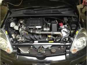 HID 純正HID サード? カーボンボンネット C-ONE GTウイング 純正オプション前後エアロ Borque racing TE37 use 15 inch 6.5j engine starter with turbo timer