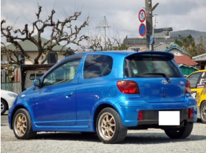 2003 toyota vitz TRD turbo sale japan 1.5 67k-2 rs