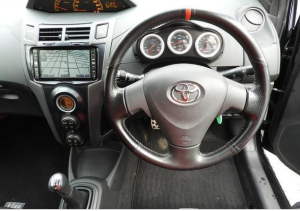 2007 toyta vitz trd turbo m ncp91 1.5 MT manual for sale in japan