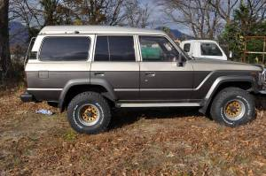1987 toyota land cruiser hj61 for sale in japan hj61v