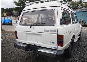 1987 toyota land cruiser landcruiser hj61 hj61v vx MT 4.0 diesel 4wd for sale in japan