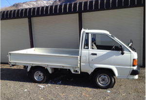 1989 toyota lightace pickup truck km50 1.3 for sale japan 82k-1