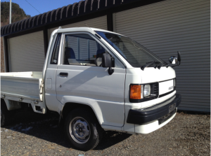 1989 toyota lightace pickup truck km50 1.3 for sale japan 82k