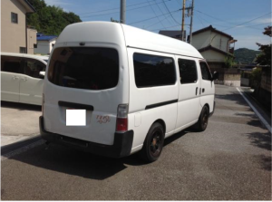 2001 nissan caravan van diesel manual cwge25 3.0 for sale in japan 180k-1
