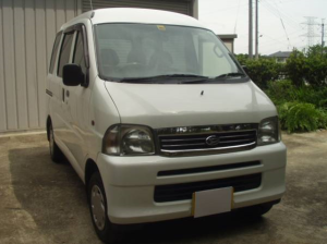 2004 daihtsu hijet cargo van s200v 660cc kei car for sale in japan 130k