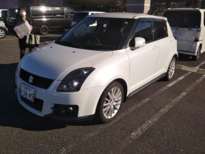 2006 suzuki swift sport zc31s for sale in japan