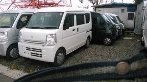 Used suzuki every van for sale in japan