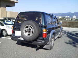 1995 toyota land cruiser hdj81v sale japan 210k-1